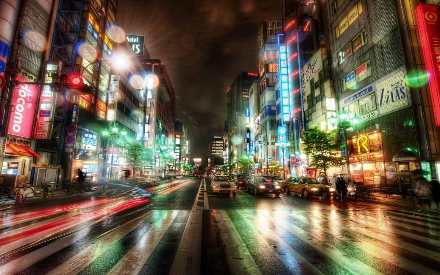 city night city Tokyo HDR 745031 wallhere.com  - city-night-city-Tokyo